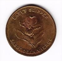 Prince Edward Island Lady's Slipper  Medal - Canada