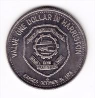 1978 Harriston Ontario Centennial Dollar Token - Canada
