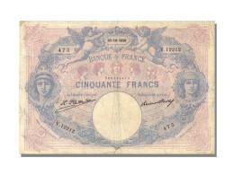 50 Francs Type Bleu Et Rose - 1871-1952 Antichi Franchi Circolanti Nel XX Secolo