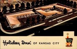 KANSAS CITY..HOLIDAY INN..CPSM PETIT FORMAT - Kansas City – Kansas