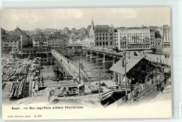 51036670 - BASEL - Bau Der Mittleren Rheinbrücke - BS Basel-Stadt