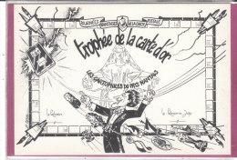 TROPHEE DE LA CARTE D' OR Les Cartophiles Du Pays Nantais ( J. Claval ) - Bourses & Salons De Collections