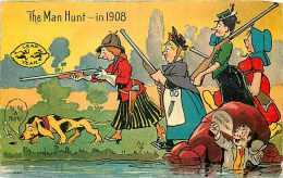 220627-Leap Year, Nash 1908 No 1067, The Man Hunt, Women With Guns - Fêtes - Voeux