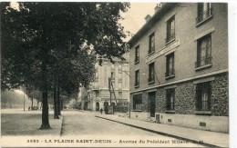 CPA 93 LA PLAINE SAINT DENIS AVENUE DU PRESIDENT WILSON - Saint Denis