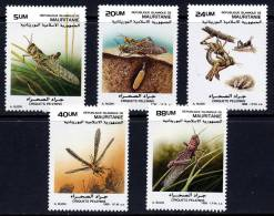 Mauritanie 0623/27** - Criquets Pelerins Dessin De Buzin -MNH - - Mauritanie (1960-...)