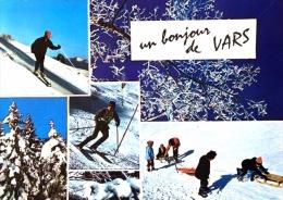 # Un Bonjour De Vars - Alt. 1650 2580 - Cp Multivues - Other Municipalities