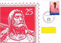 Lettre 11.11.11.- 11 Avec Timbre Zums. 864, Mi. 1526 Europa, Ballon 16.940 M. - Svizzera