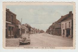 *a* WORMHOUDT (Wormhout) - Rue De La Citadelle - Voiture Peugeot 202 - édit. J. Patoor - En L´état - Wormhout