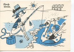 Quelle Belle Pêche !  Claude Verrier Illustrateurs - Ames Vaillantes De Souhaite De Bonnes Vacances (neuve) - Humour