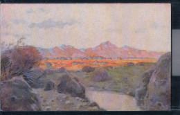 Namibia - Deutsch-Südwestafrika - Landschaft - Kolonialkriegerdank - Künstlerkarte - Namibia