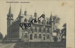 Wommelgem : Kasteel Chateau : Selzaetenhof  ( Geschreven 1905 Met Zegel ) - Wommelgem