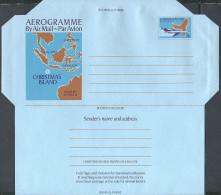 CHRISTMAS - Aerogramme Postage 33 C - Iles Avion Carte - Entier Postal Neuf ** MNH - Christmas Island