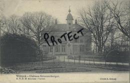 Wilrijk : Kasteel Chateau :   Groenenborger  ( Geschreven 1907 Met Zegel ) - Belgique