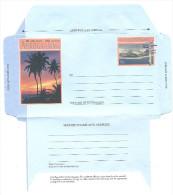 COCOS (Keeling) ISLANDS - Aerogramme Postage 70 C - Palmier Couche Soleil  - Entier Postal Neuf ** MNH - Cocos (Keeling) Islands