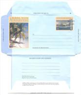 COCOS (Keeling) ISLANDS - Aerogramme Postage 70 C - Palmier Plage - Entier Postal Neuf ** MNH - Cocos (Keeling) Islands