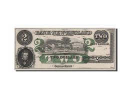 Etats-Unis, Obsolètes, Connecticut, Bank Of New-England, 2 Dollars 18__ - Billets