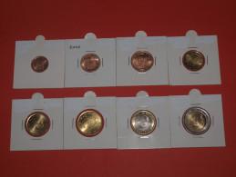 KMS SPAIN - SPANIEN  (1 Cent  Bis 2 Euro) 2001 UNC - España