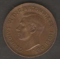 GRAN BRETAGNA HALF PENNY 1950 - 1902-1971 : Monete Post-Vittoriane
