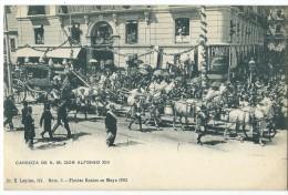 ESPAGNE - MADRID - (N° 3.) - Fiestas Réales En Mayon1902 - CPA - Madrid