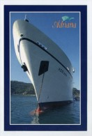 M.s. ADRIANA - Marina Cruises Company   ( 2 Scans ) - Piroscafi