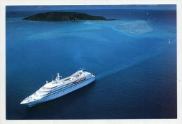 The Yachts Os SEABOURN   ( 2 Scans ) - Piroscafi