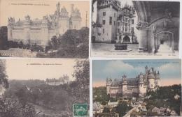 16 / 1 / 302  -    LOT  DE  19  CPA  DE  PIERREFONDS  ( 60 )  - Toutes Scanées - Postcards