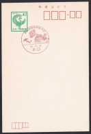 Japan Commemorative Postmark, National Athletic Meet Soccer (jch1962) - Other