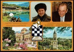Schaken Schach Chess Ajedrez échecs - Meran Merano 1981 - Karpov Korchnoi - Echecs