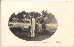 06 NICE CARTE PHOTO LAC DE CAP FERRAT 1912 - Nice