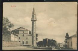 BOSNIA BOSNA BILECA MOSQUE OLD POSTCARD - Bosnien-Herzegowina