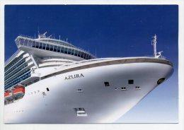 AZURRA - P & O Cruises   ( 2 Scans ) - Piroscafi