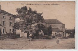 CPA DE CHATILLON-SUR-SAONE HOTEL DU COMMERCE ECRITE EN 1926 PLIURES COINS + DE BAS VERS COTES VOIR SCAN - Andere Gemeenten