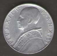 VATICANO 10 LIRE 1951 - Vaticano
