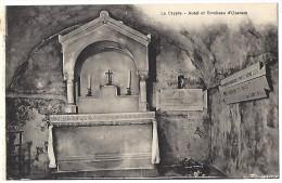 75 PARIS 6e CRYPTE AUTEL TOMBEAU D'OZANAM - Churches
