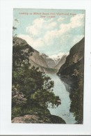 NEW ZEALAND 52881 LOOKING UP MILFORD SOUND FROM WINDBOUND POINT 1908 - Nouvelle-Zélande