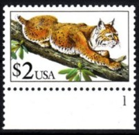 USA 1990 MiNr. 2092 **/ Mnh;  Rotluchs - Zonder Classificatie