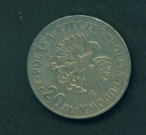 POLAND  -  1976  20z  Circulated Coin - Poland