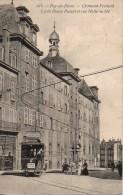 63 CLERMONT-FERRAND  Lycée Blaise Pascal Et Rue Halle Au Blé - Clermont Ferrand