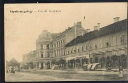 ROMANIA HUNGARY SEPSISZENTGYORGY SFANTU GHEORGHE OLD POSTCARD K.u.k. ZENSOR BRASSO - Rumänien