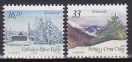 SERBIA 2005. Definitive, MNH(**) Mi 3265/66 - Serbie