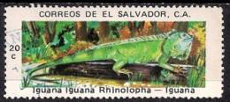 B395 - El Salvador 1976 - Reptiles - Salvador