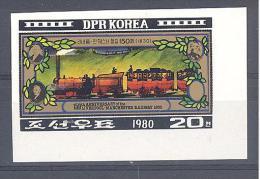 P.R. KOREA  Michel # 2065  ** - Treni
