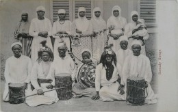 CPA - Somaly Songs. Voyagé Timbre (india Postage & Revenue) 1909 - Somalia