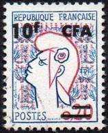 Réunion Obl. N° 349A Marianne De Cocteau - Reunion Island (1852-1975)