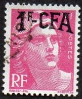 Réunion Obl. N° 289 - Marianne De Gandon Surch. 1/3 F Rose Lilas - Oblitérés