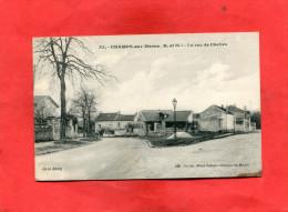 CHAMPS SUR MARNE / ARDT TORCY      1910   LA RUE DE CHELLES    EDIT    CIRC - Other Municipalities