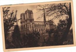 75 - Cpa - PARIS - Notre Dame - Arc De Triomphe