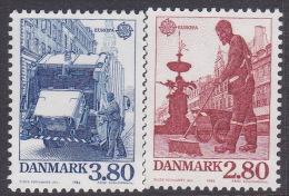 Denmark 1986 Europa Set MNH - Europa-CEPT