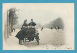 CPA Type PARIS PITTORESQUE - PARIS Automobie Tacot En Panne - France