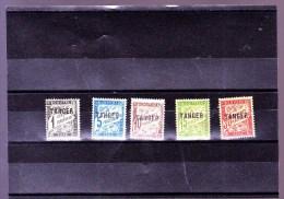 MAROC : Y&T :TT 35* à 38*-40 - Maroc (1891-1956)
